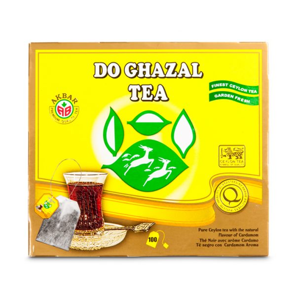 Do Ghazal tea – Cardamom 24x100g