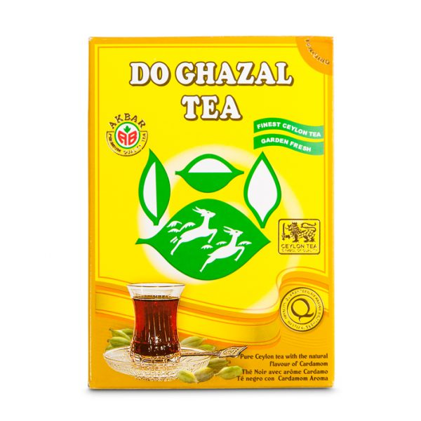 Do Ghazal tea – Cardamom 24x500g